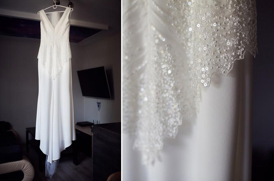 suknia slubna lancut
