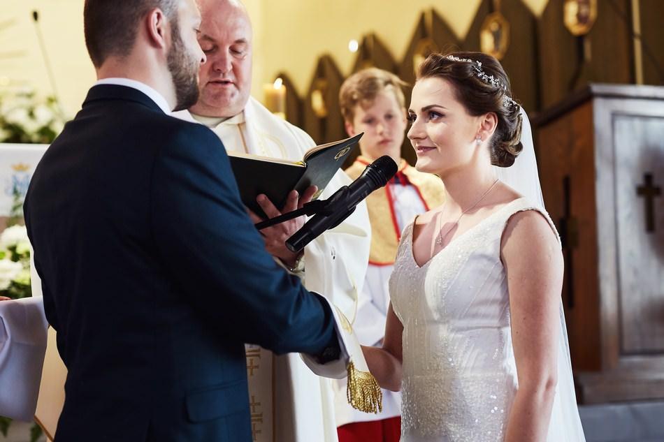 fotograf na slub lancut ceremonia