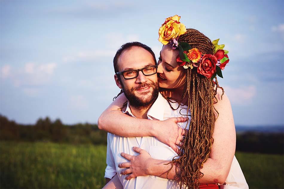 sesja narzeczenska rzeszow pocalunek