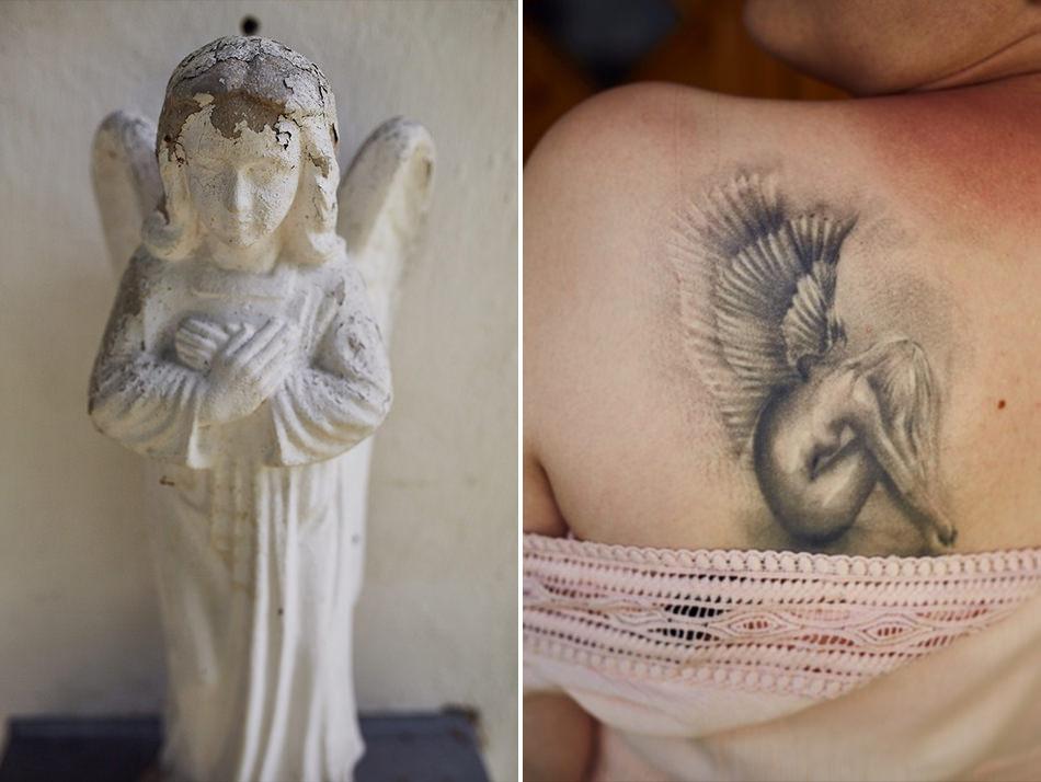 Sesja plenerowa w Bieszczadach aniol