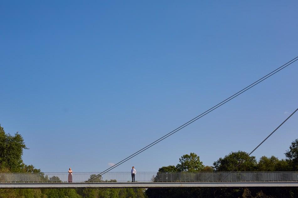 zdjecia plenerowe w Bieszczadach most