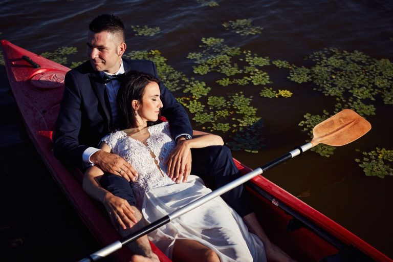 Sesja ślubna w rzeszowskim rezerwacie przyrody Lisia Góra. A&A