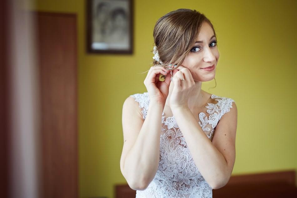 krosno wesele przygotowania kolczyki slubne