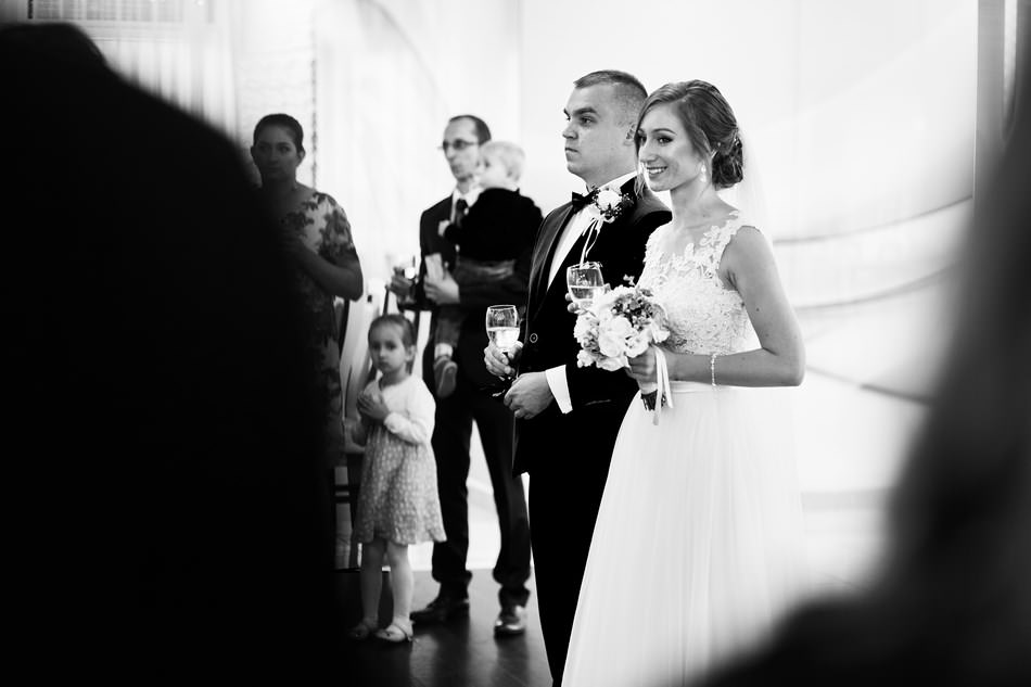 Fotograf slubny krosno wesele dwa serca szampan