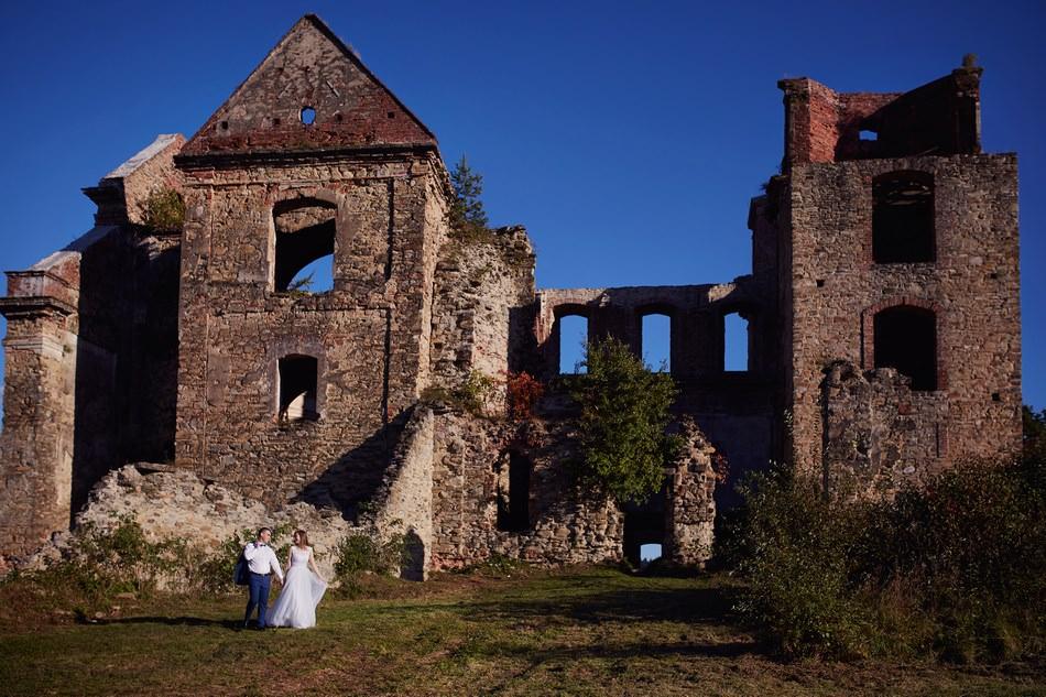 fotografia plenerowa sanok Klasztor Karmelitów bosych w Zagórzu