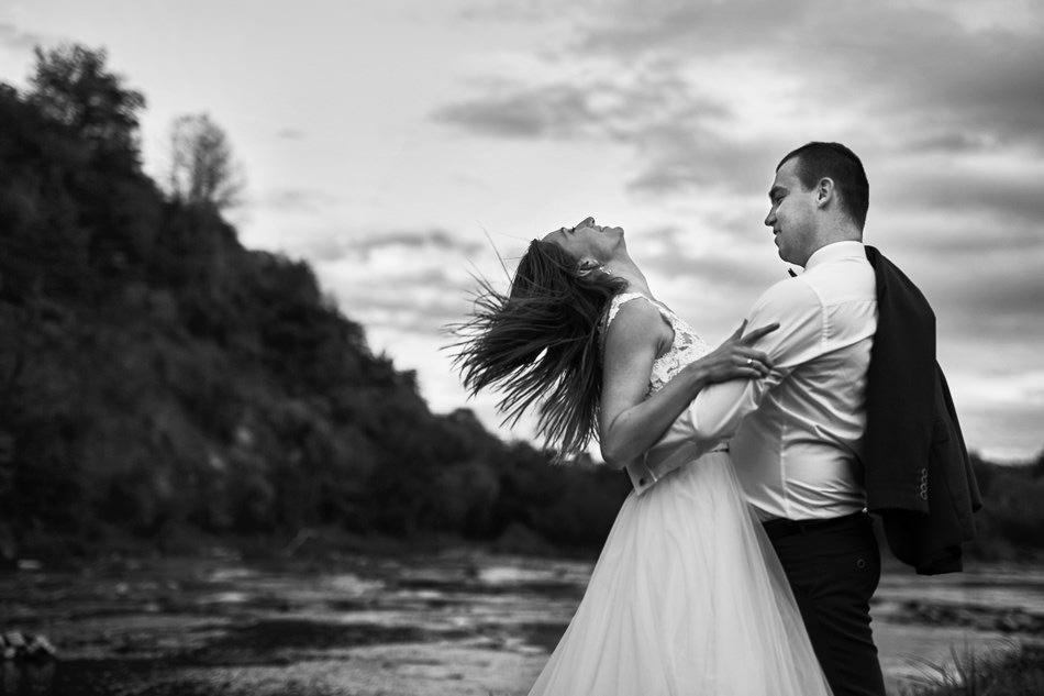 fotografia plenerowa sanok sesja nad rzeka san