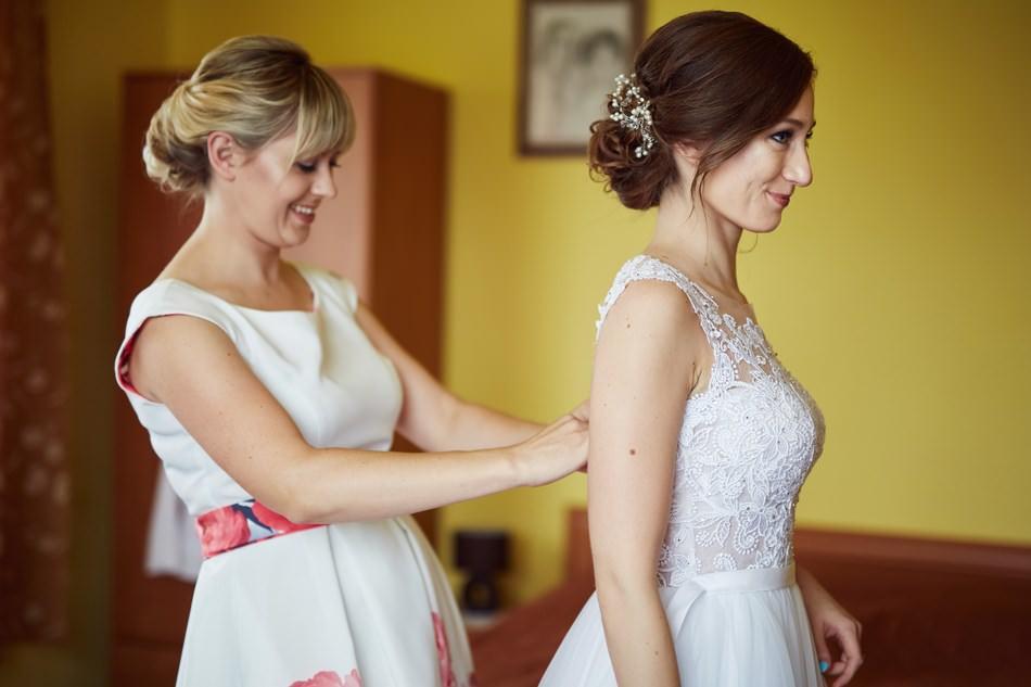 wesele krosno przygotowania panny mlodej