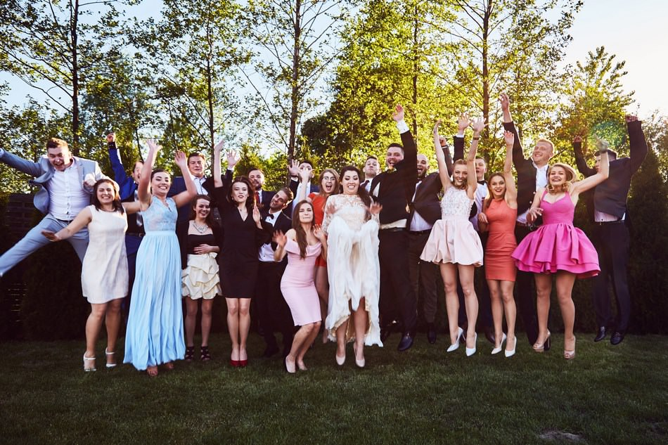 zdjeci grupowe na weselu jaroslaw, rzeszow, krakow