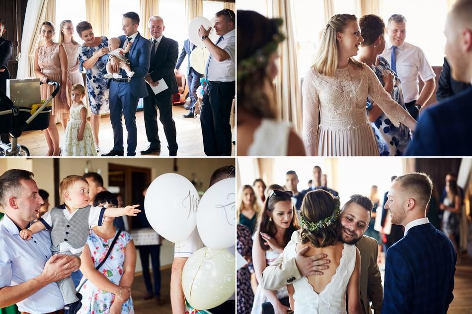 zyczenia dla pary mlodej weslele w Winnicy Maria Anna