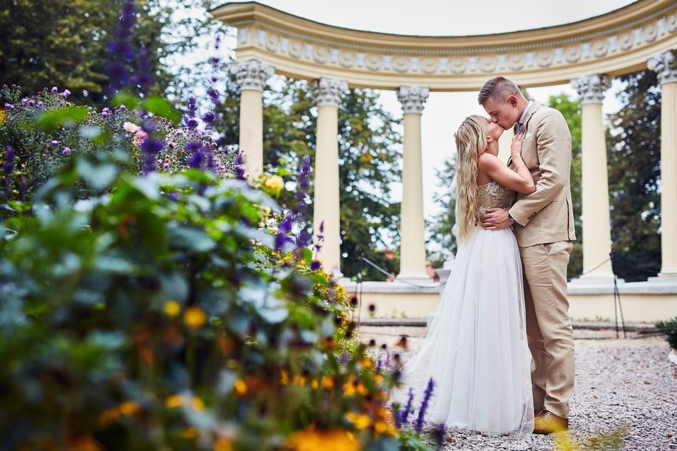 Plener ślubny w Zamku w Łańcucie.