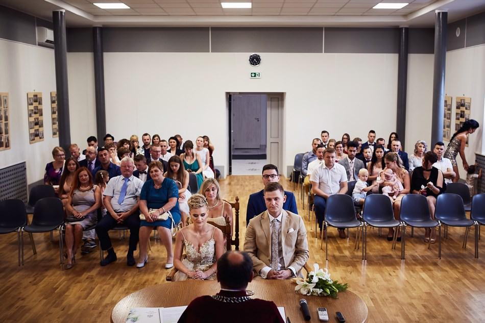 ślub cywilny w urzędzie wesele skotnik taras
